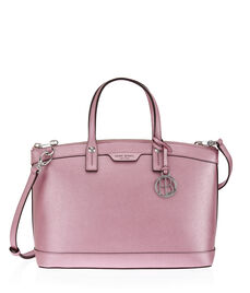 West 57th Metallic Satchel