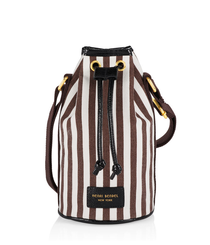 Signature Stripe Wine Bag