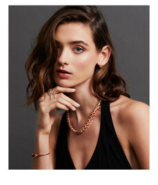 Luxe Pave Asscher Statement Necklace