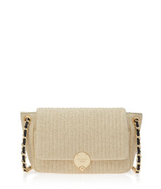 No. 7 Straw Convertible Crossbody