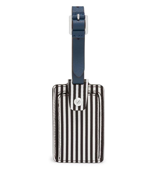 Centennial Stripe Blocked Bag Tag