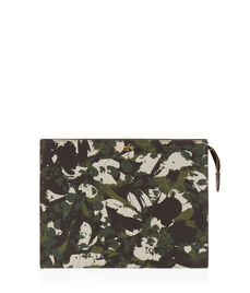 West 57th Floral Camouflage Cosmetic Clutch