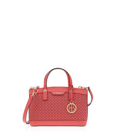 West 57th Perforated Mini Satchel