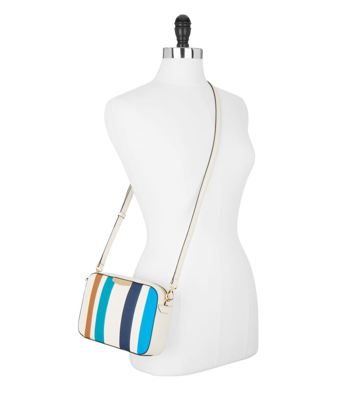 West 57th Striped Crossbody