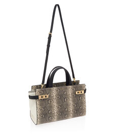 Uptown Snake Tote