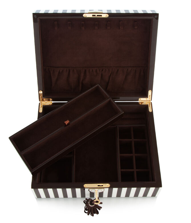 Henri Bendel Lacquer Jewelry Box
