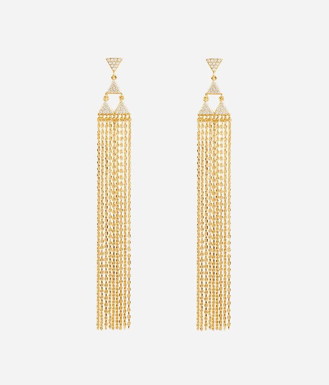 Luxe Bali Fine Lines Tassel Earring