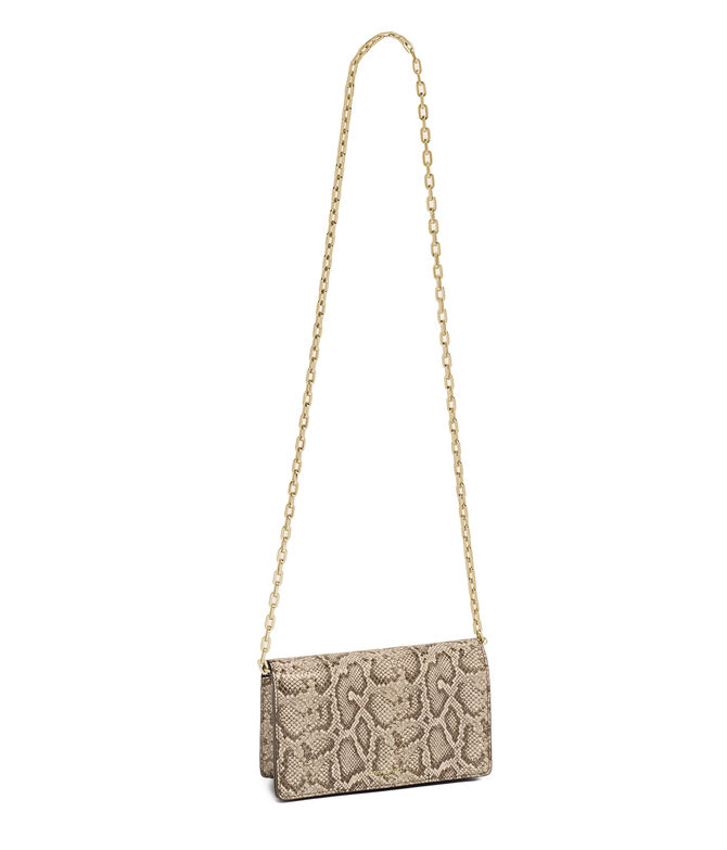 Centre Street Snake Embossed Crossbody