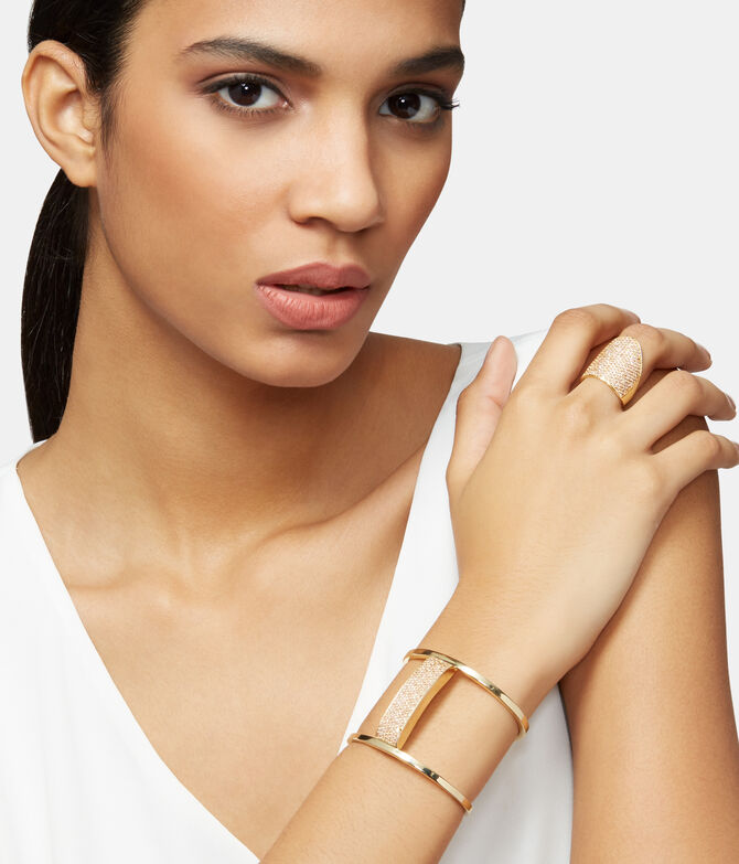 Luxe Elements Love Pave Cuff