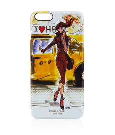 Taxi Girl Graphic Case for iPhone 6/6s Plus