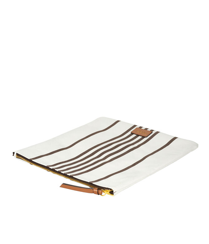 Canvas Foldover Clutch