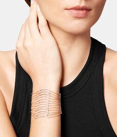 Luxe Fine Lines Statement Bracelet