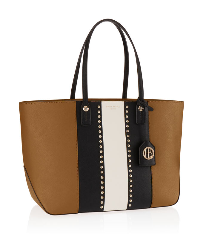West 57th E/W Studded Tote