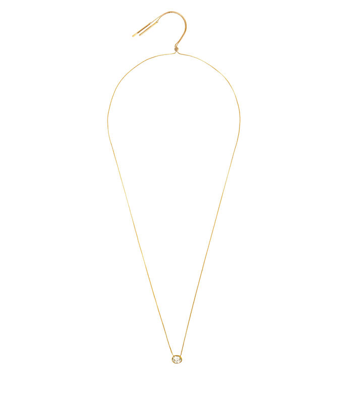 Luxe Modern Asscher Slider Necklace