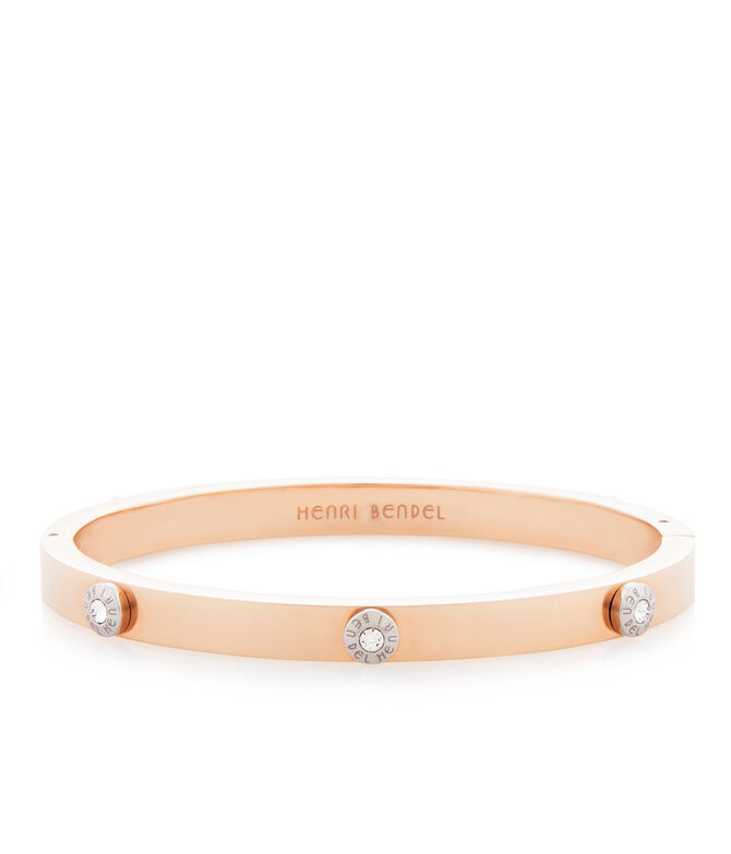 Miss Bendel Metal Rivet Bangle