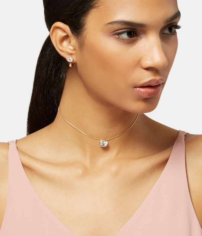 Luxe Modern Asscher Slider Necklace