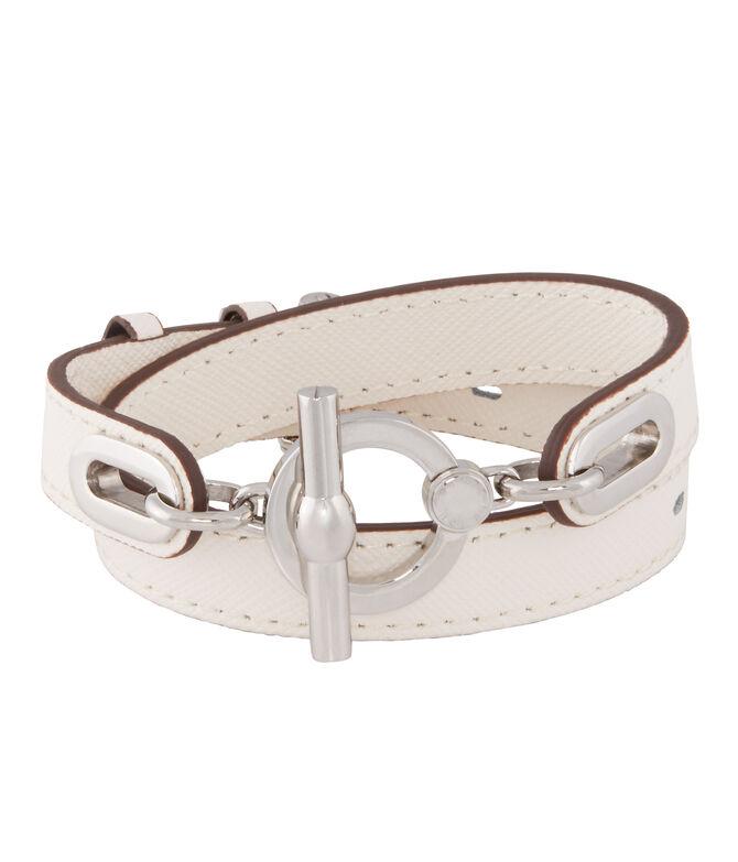Signature Monogram Wrap Bracelet