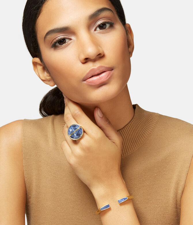 Modern Stone Ring