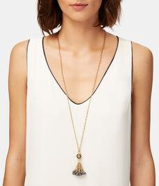 Deco Pearl Tassel Pendant