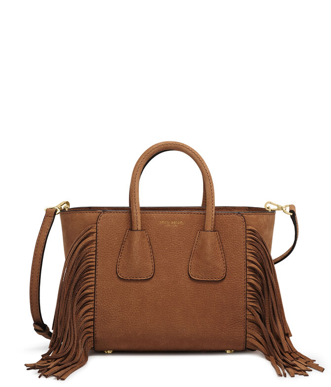 Michelle Mini Fringe Tote