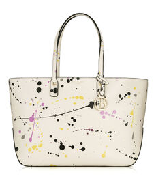 West 57th E/W Splatter Tote