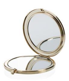 Hatbox Crystal Compact Mirror