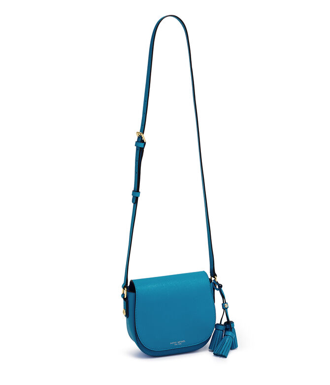 West 57th Tassel Mini Saddle Bag