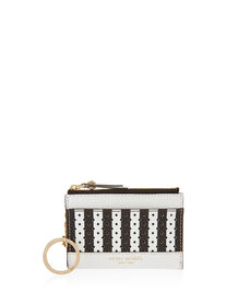 West 57th Perforated Mini Zip