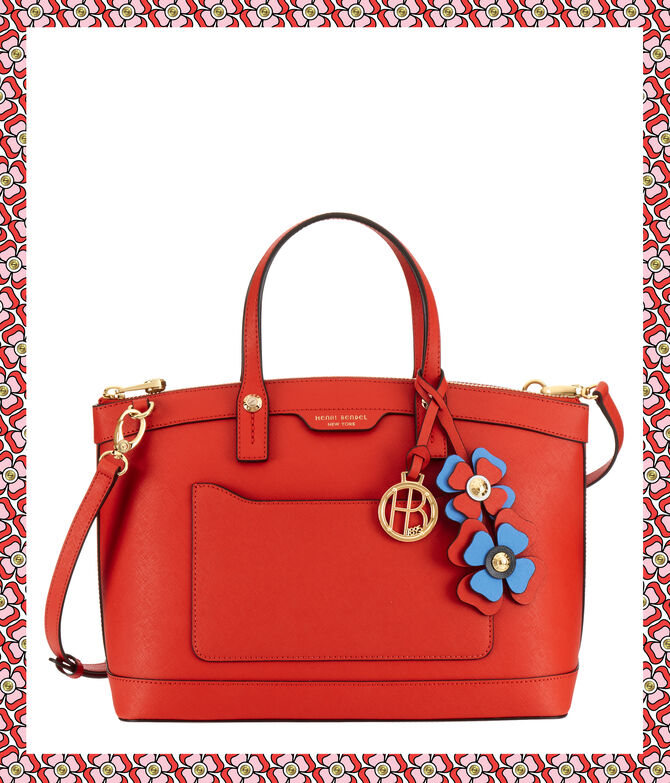 West 57th Bouquet Satchel with Petal Charm