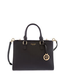 West 57th Small Turnlock Satchel