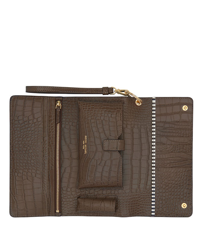 Uptown Croco Out & About Organizer Wallet