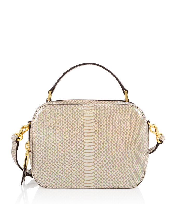 Dalton Snake Embossed Camera Bag