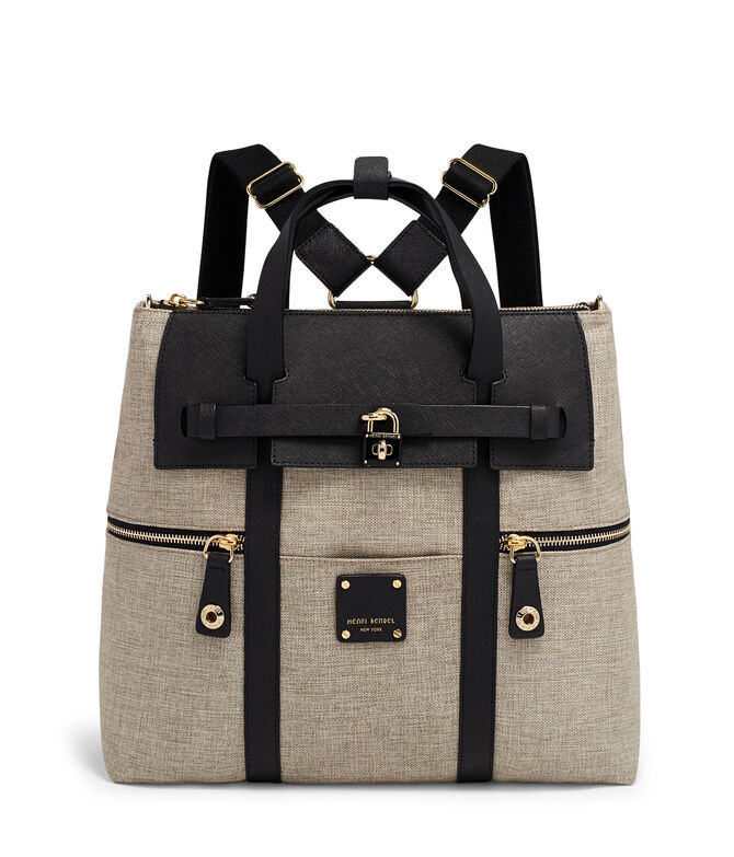 designer backpacks 6lz2  Jetsetter Convertible Canvas Backpack