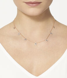 Luxe Diamond Slice Collar
