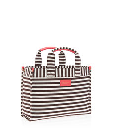 Signature Stripe Canvas Mini Tote