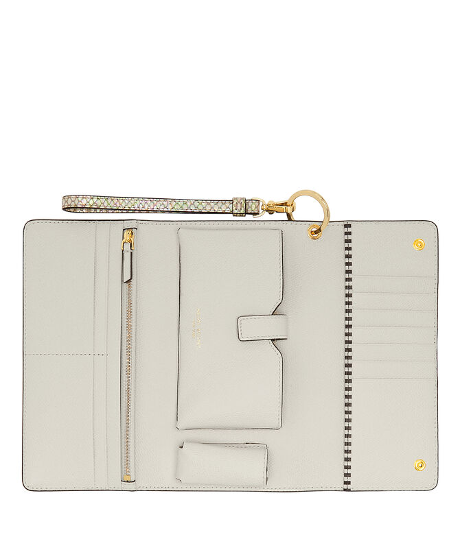 Uptown Metallic Snake Out & About Organizer Wallet