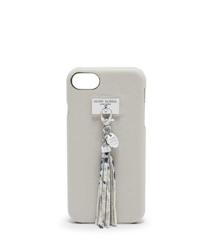 West 57th Snake Embossed Tassel Case for iPhone 6 / 7