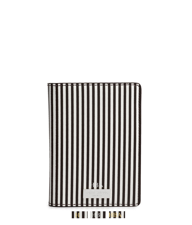 Centennial Stripe Color Blocked Passport Cover