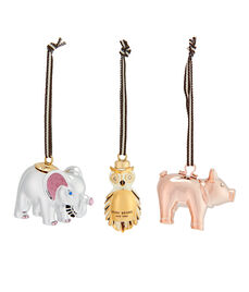 Henri Bendel Animal Ornaments