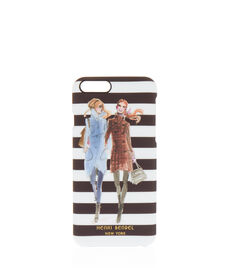 Fall Girls Stripe Graphic Case for iPhone 6/6s