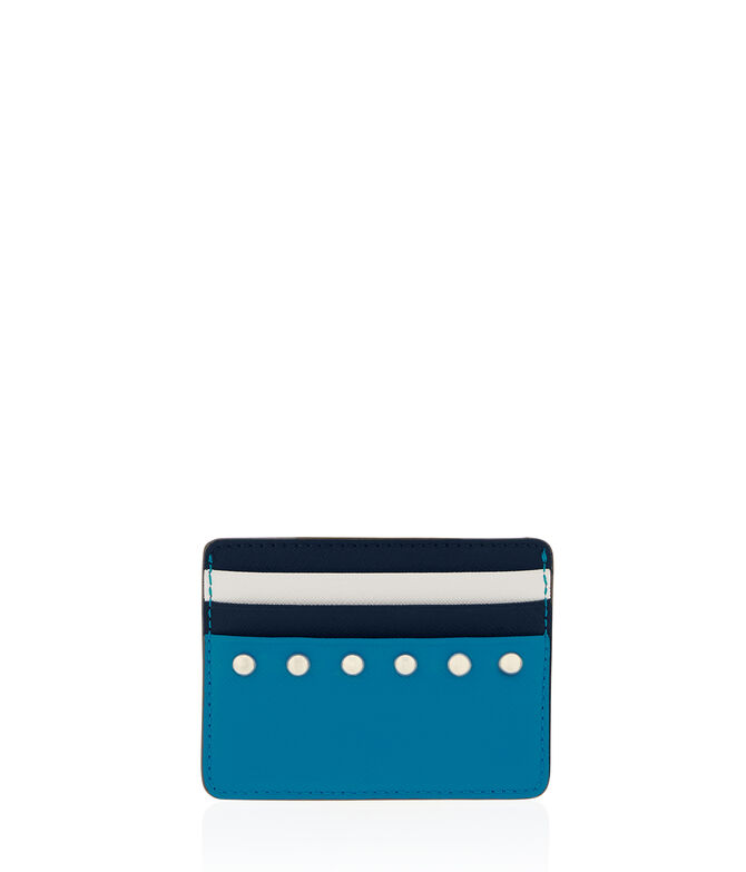 West 57th Studded Card Case