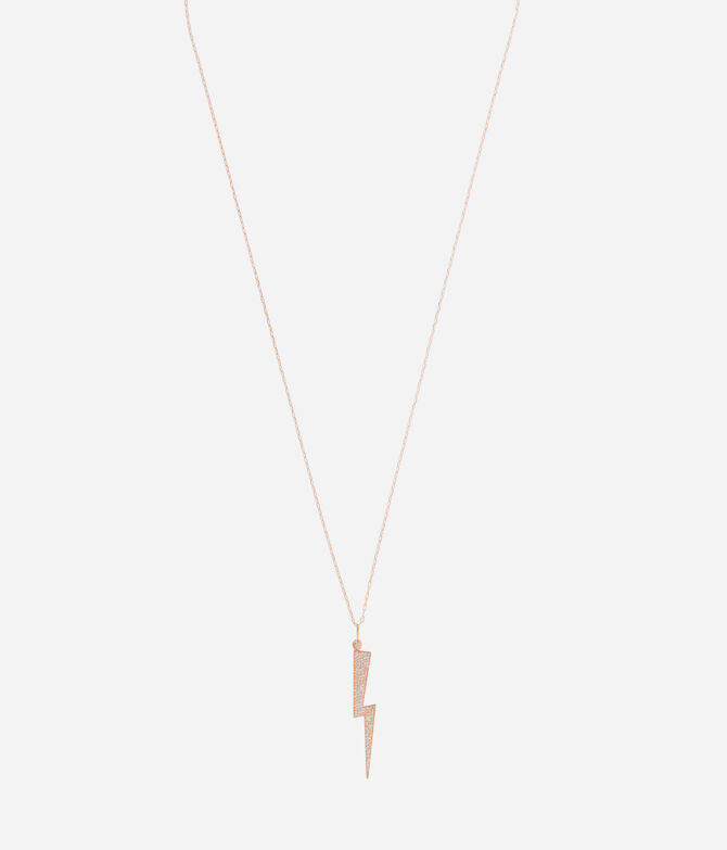 Luxe Glam Bolt Long Pendant