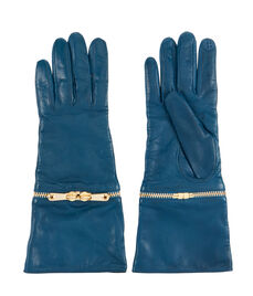 Henri Bendel Zipper Gloves