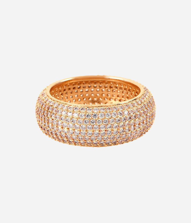 Luxe Pave Ribbon Ring
