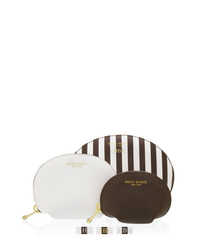 West 57th Cosmetic Bag Trio