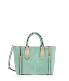 A-List Suede Mini Satchel