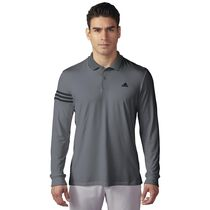 climacool® LS 3-stripe polo