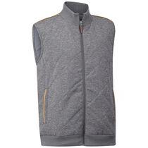 Quilted Tweed Vest