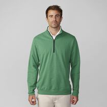 Slub French Terry Half Zip Pullover