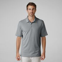 Matte Interlock Mini Stripe Golf Shirt